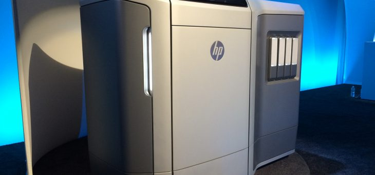 HP Delivers World's First Production-Ready 3D Printing System