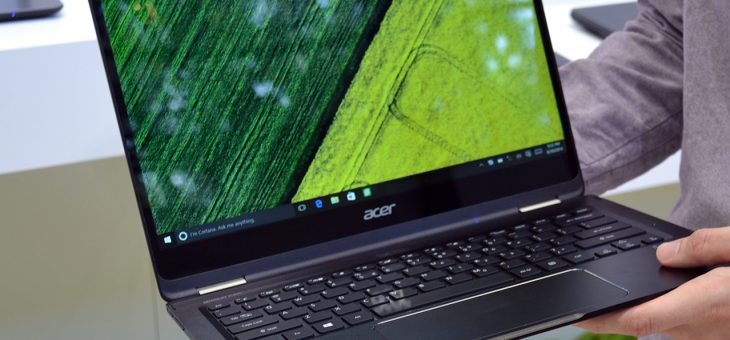 Acer Unveils Versatile and Robust TravelMate Spin B1 Convertible Notebook at BETT 2017