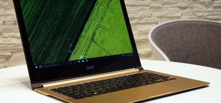 Acer's Swift 7 is the first laptop thinner than a centimeter