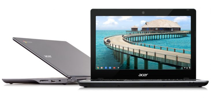 Acer Leads Worldwide Chromebook Market for Third Consecutive Year